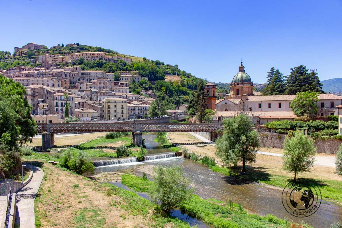 Old town of Cosenza - Calabria Itinerary