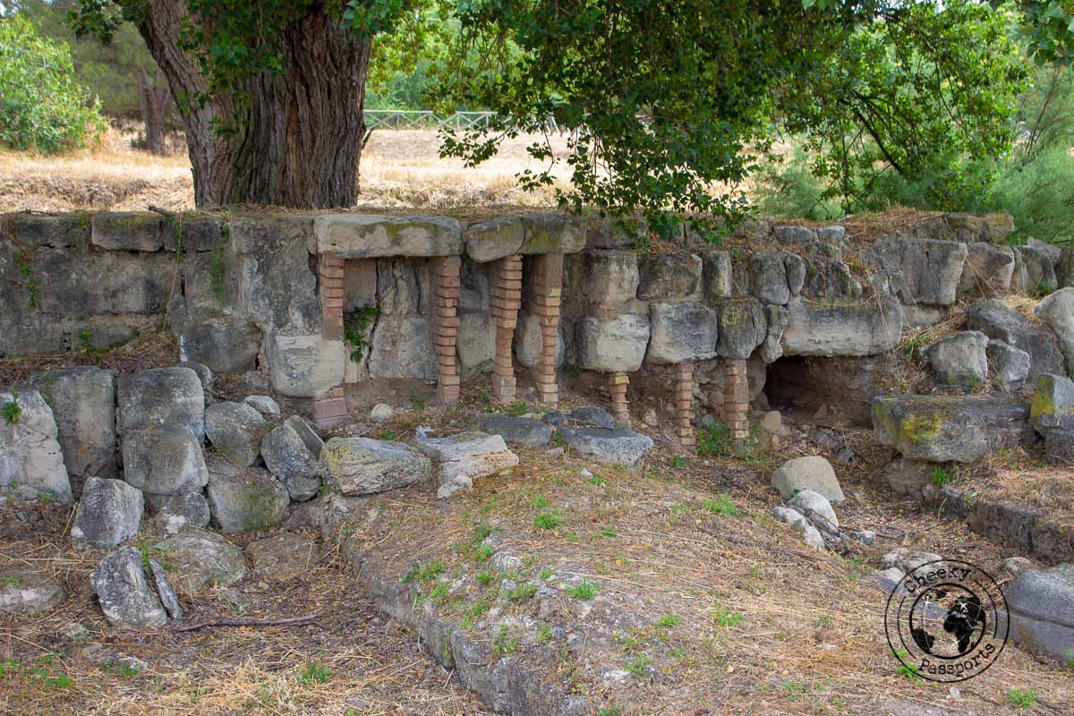 The archaeological site of Locri - Calabria