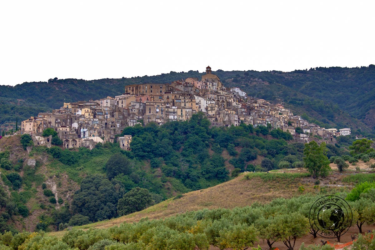 The town of Badolato on your Calabria Itinerary