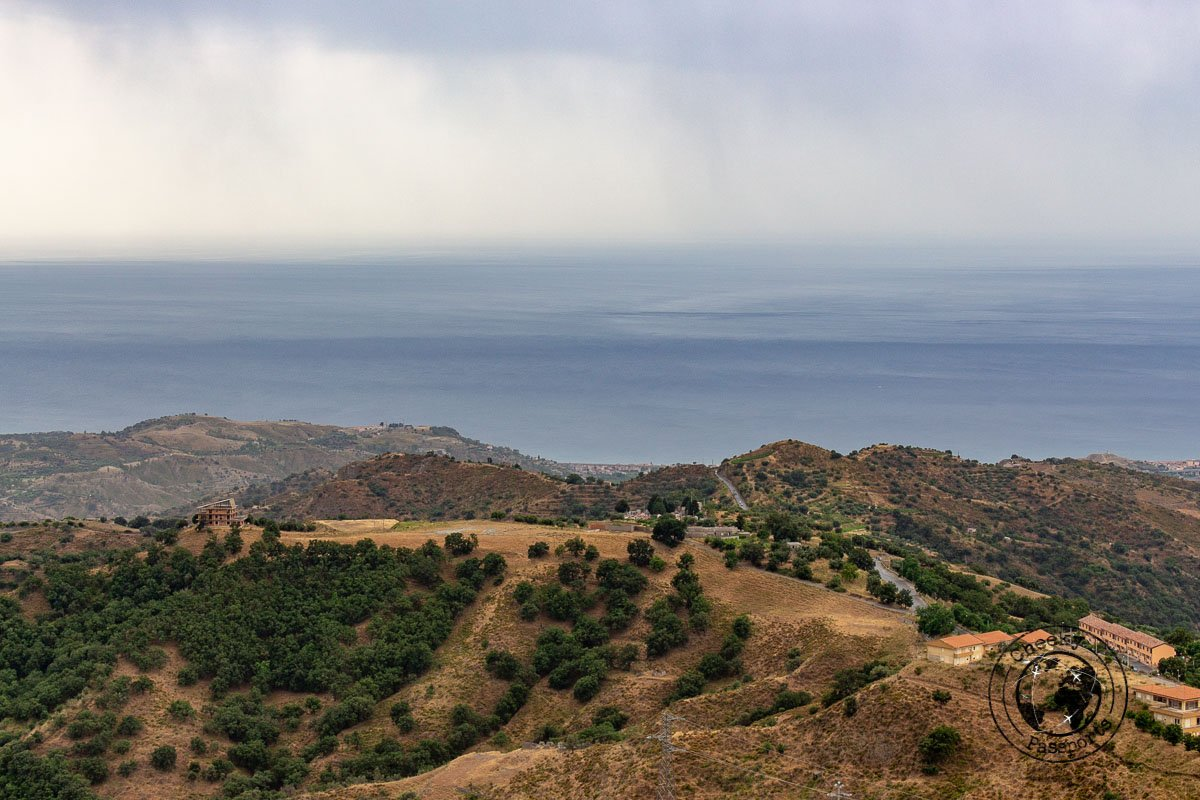 View of the Calabrian coast from Bova - things to do in calabria