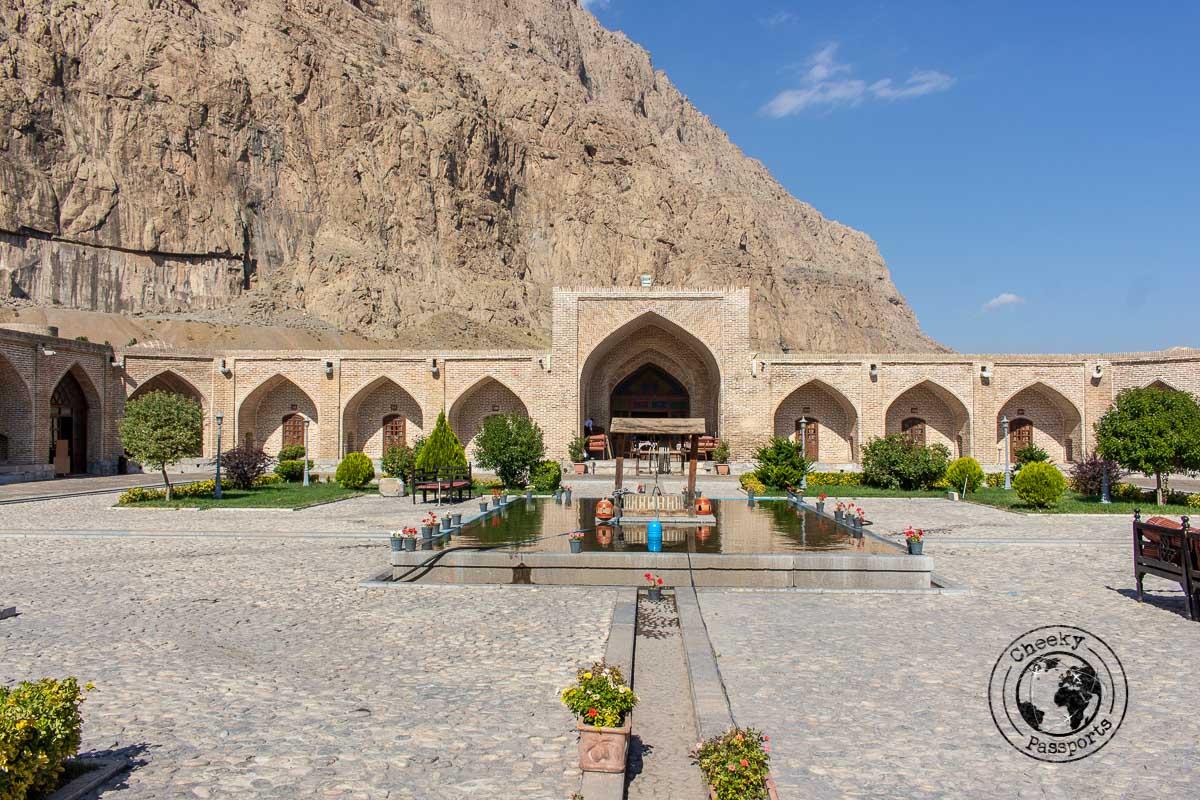 A former caravsarai turned into a boutique hotel near Kermanshah