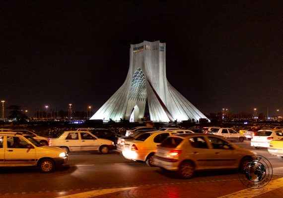 The Azadi tower, a top on your list of what to do in Tehran