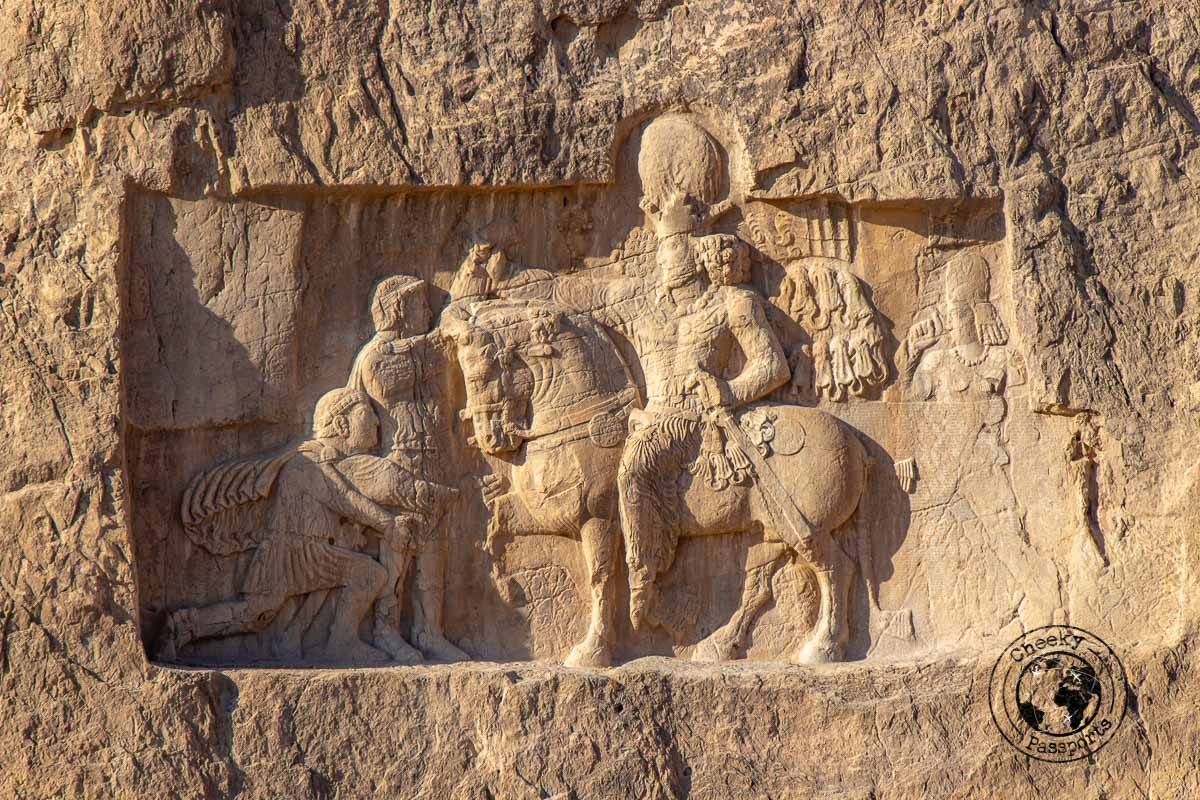 Bass relieves at the Naqsh-e Rostam