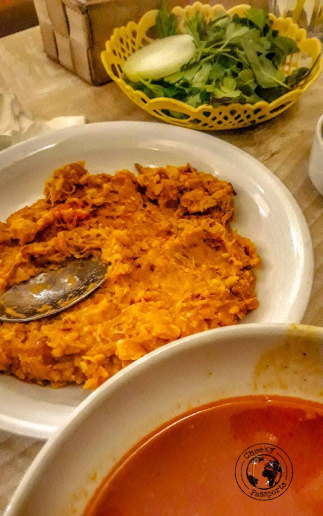 Dizi a traditional food in Iran