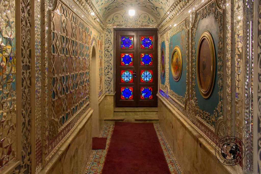 Doors and hallways at the Golestan Palace in Tehran