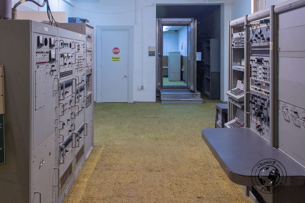 Equipment at the US Den of espionage - the former US embassy should be a top on your list of what to do in Tehran
