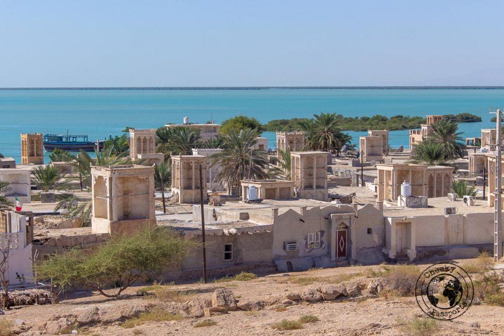 LAft fishing village in Qeshm island