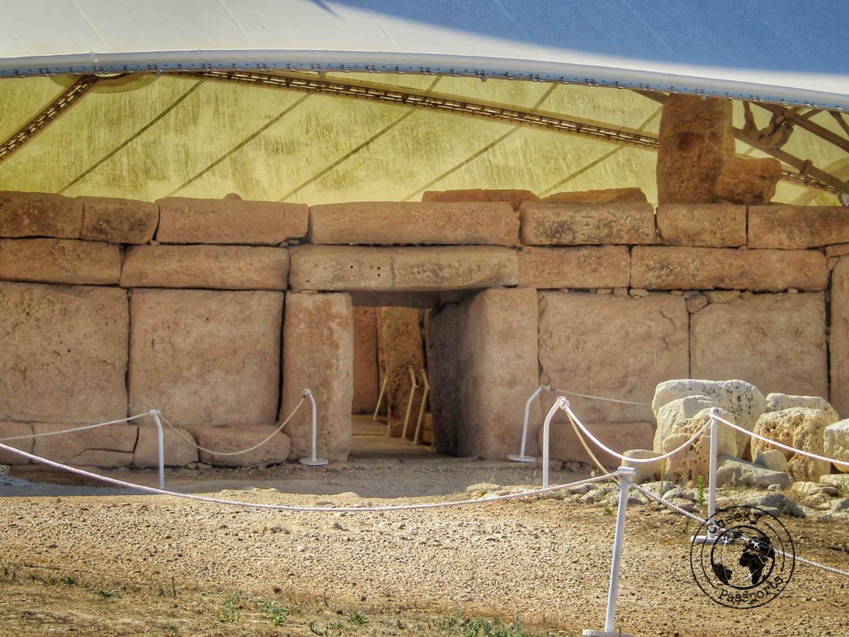 Hagar Qim Entrance