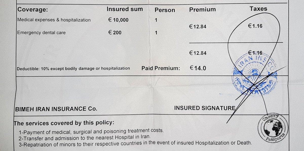 Insurance in Iran