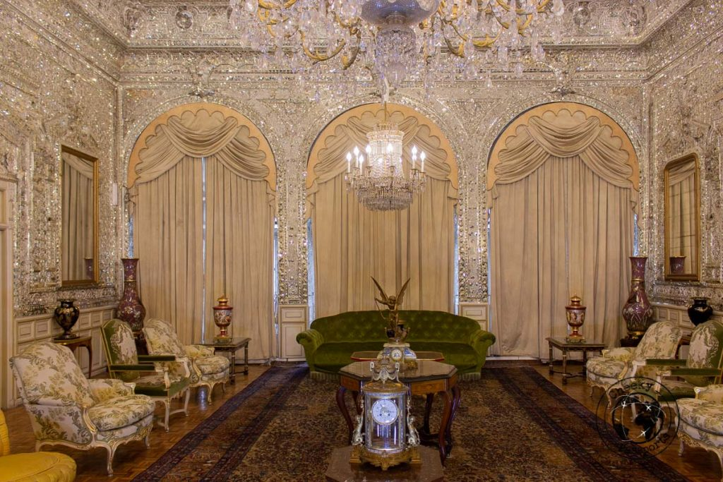 Marvellous decor at the Golestan Palace, a top attraction on the list of what to do in Tehran.jpg