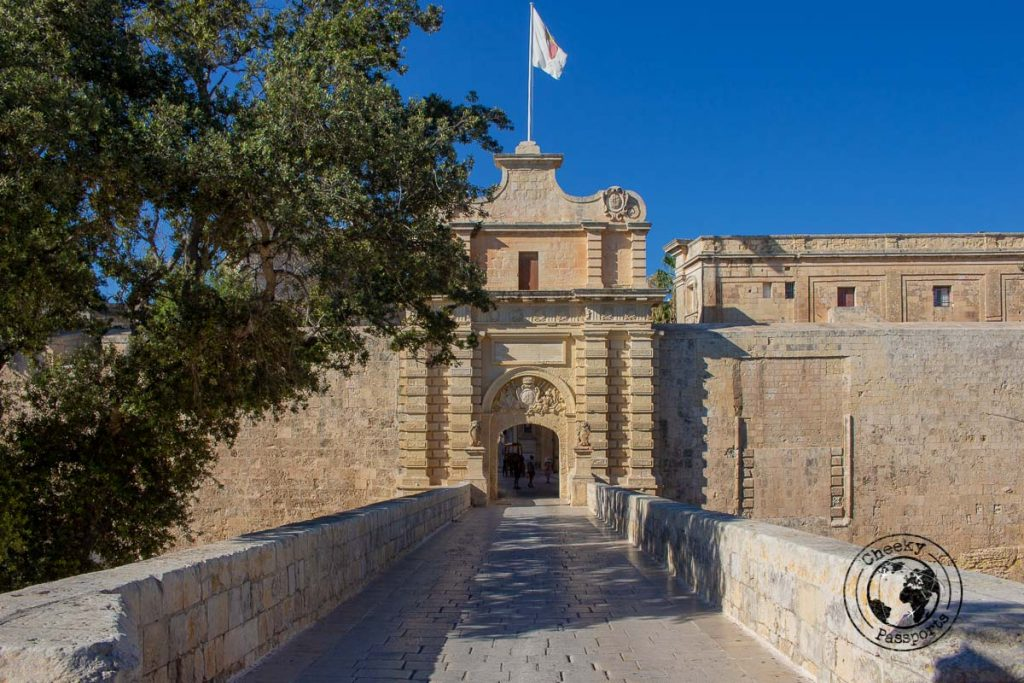 Mdina Gate, entrance to the silent city