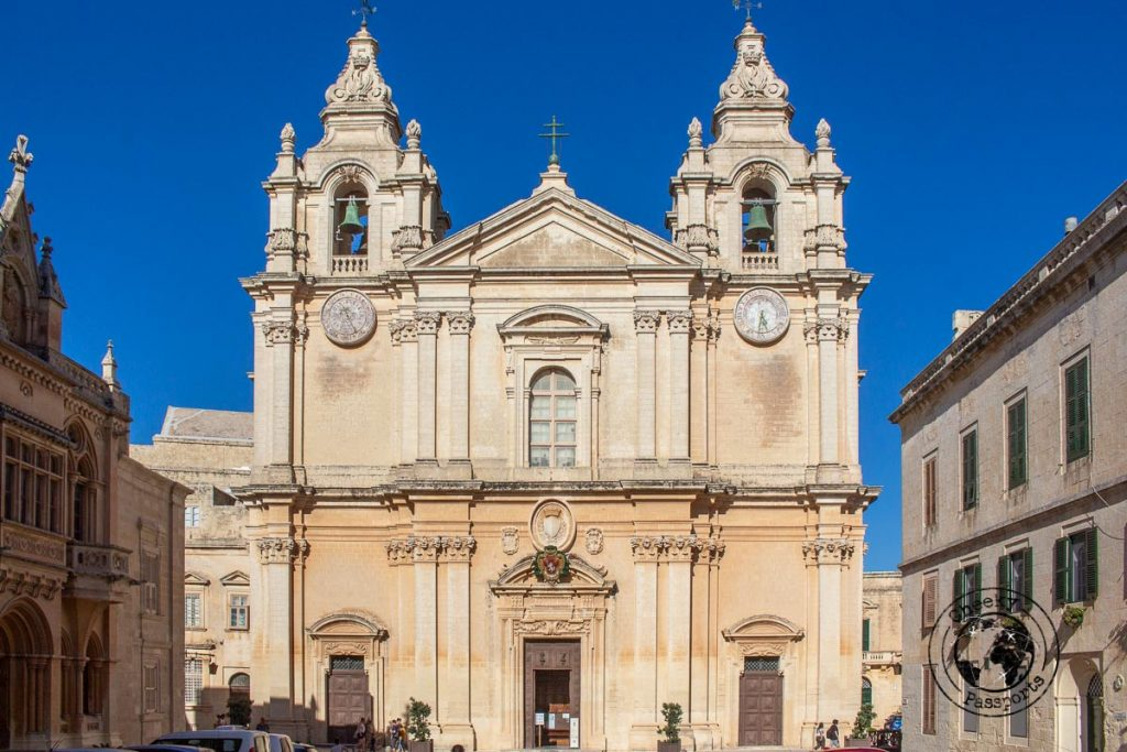 Mdina's Cathedral on your Malta Itinerary
