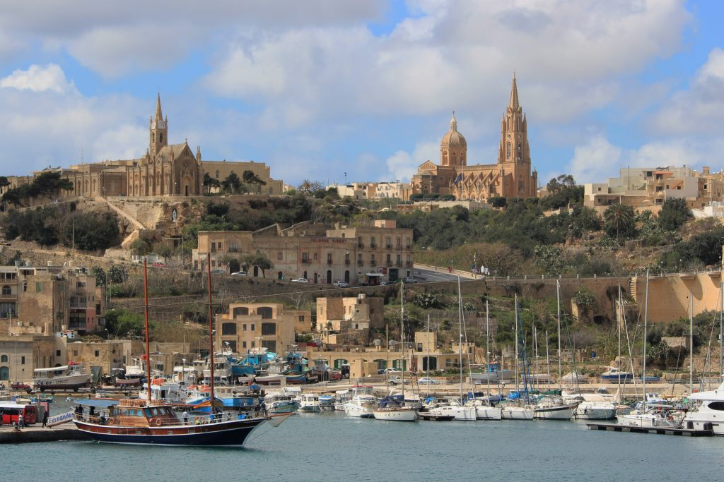 Mgarr harbour in Gozo, Malta itinerary