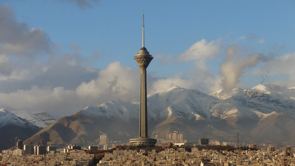 Milad Tower, photo credit Hassan Hedayatzadeh
