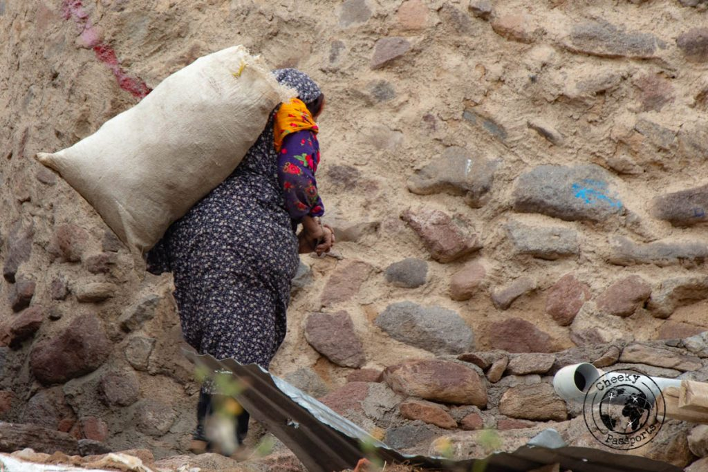 old woman a local from kandovan