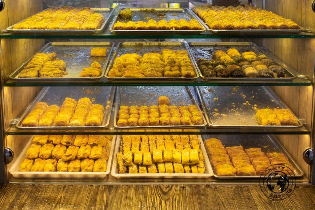 Pastries in Tehran