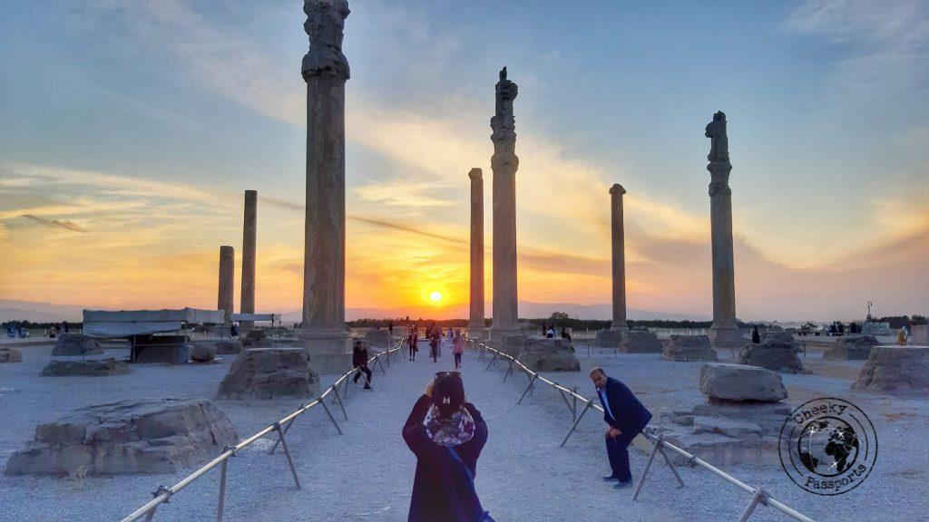 Persepolis, Persia's old capital - How to get your Iran Visa