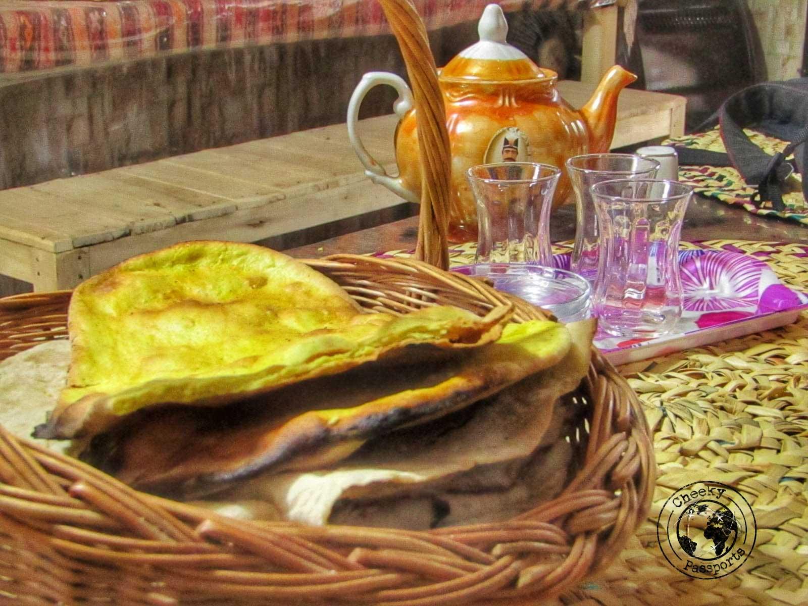 Persian breakfast - Getting to Iran