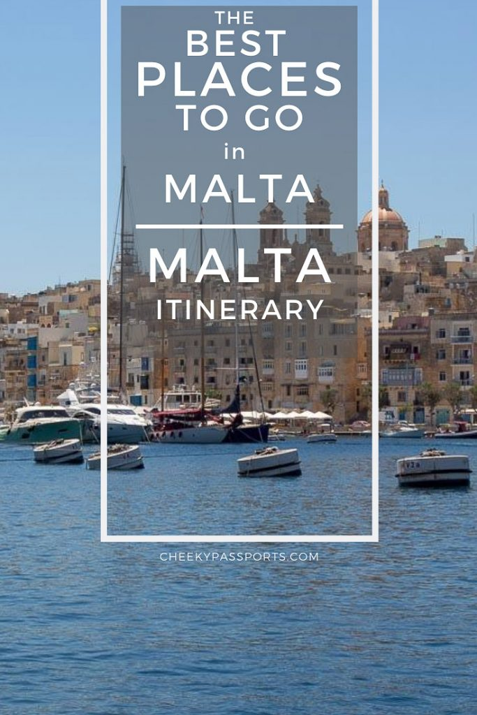 Our #Malta #itinerary showing you how to spend a #week in Malta & the best places to go in Malta, including the #top #attractions on the #islands. #islandlife #travelbuddy #travelawesome #malteseislands #guidebook #greatescape