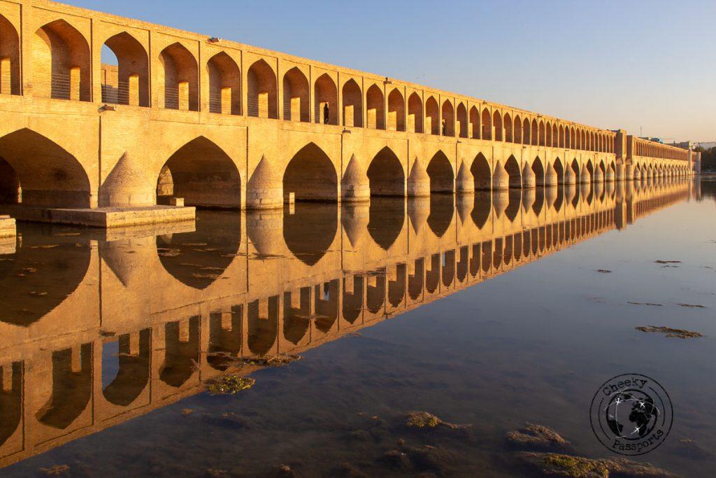Si o Se Pol Bridge in Isfahan on your iran itinerary