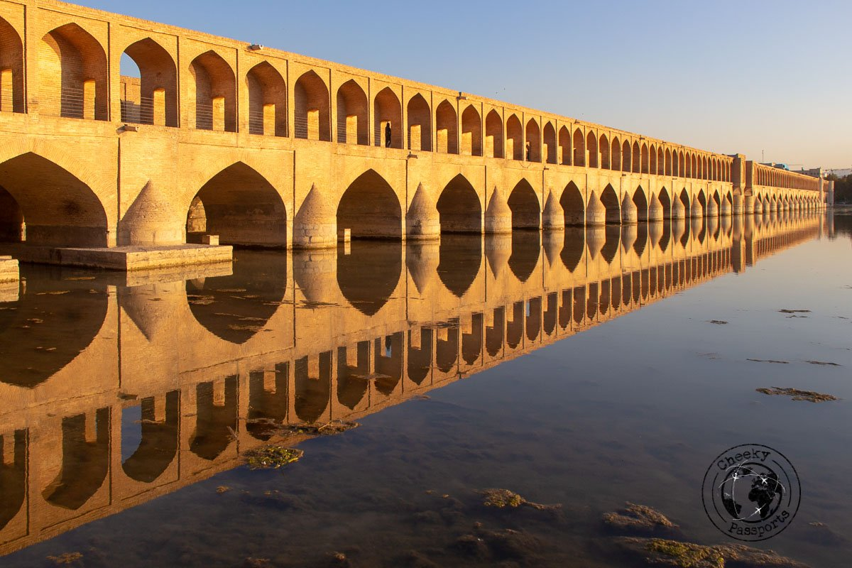 Si o Se Pol Bridge in Isfahan - independent travel in Iran