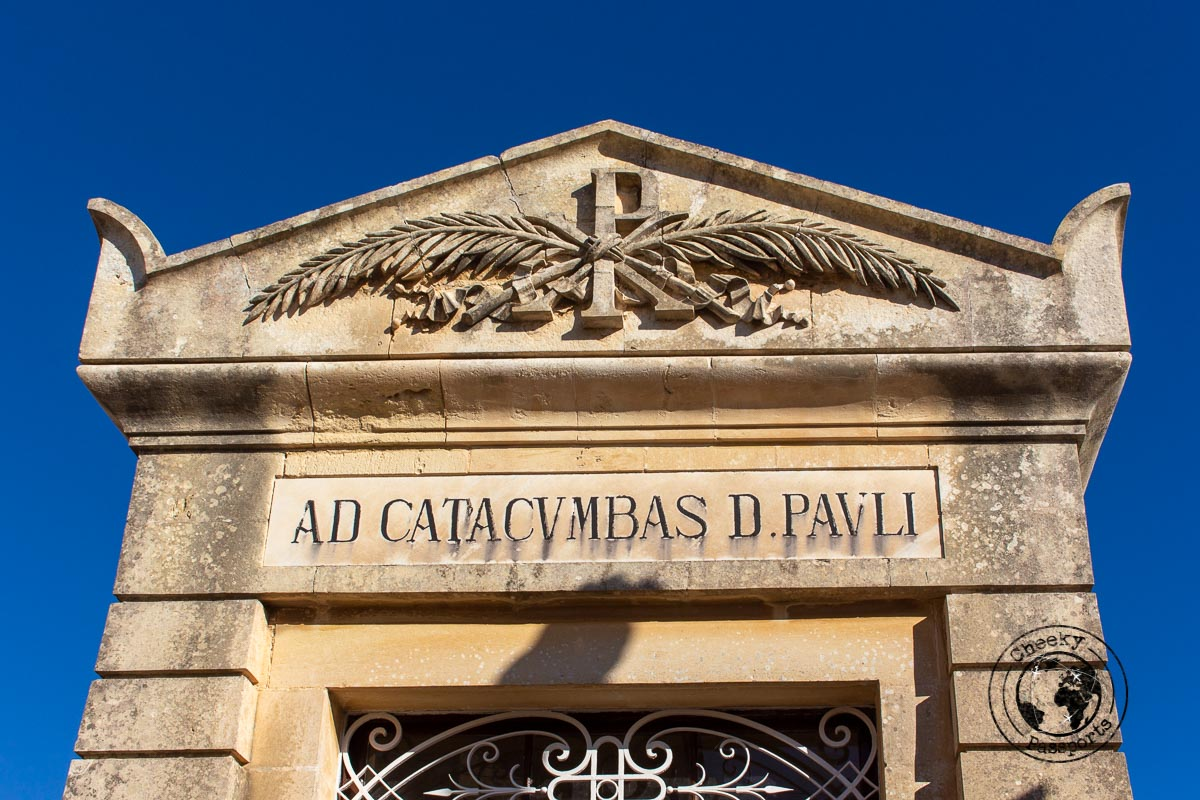 St Paul's Catacombs in Rabat a stop on your one week malta itinerary