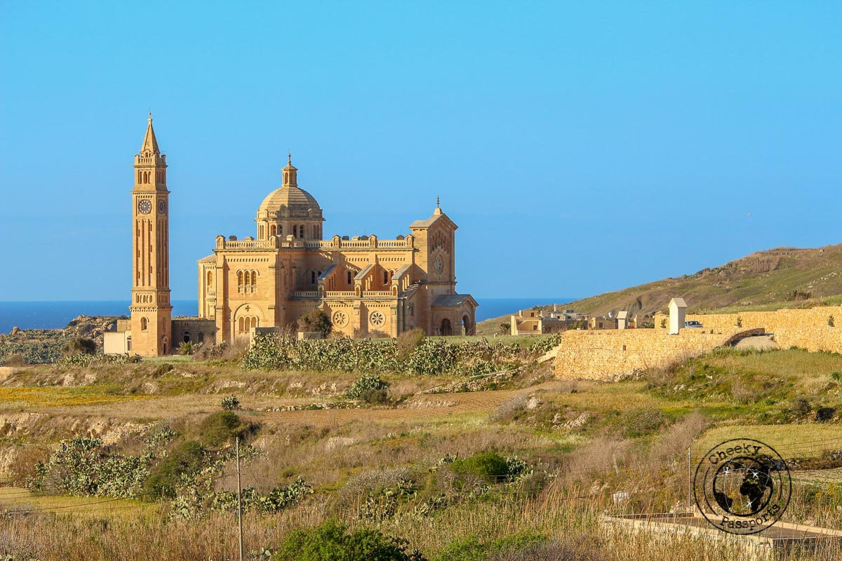 Ta' Pinu Sanctuary in Gozo - Best Places to visit in Malta
