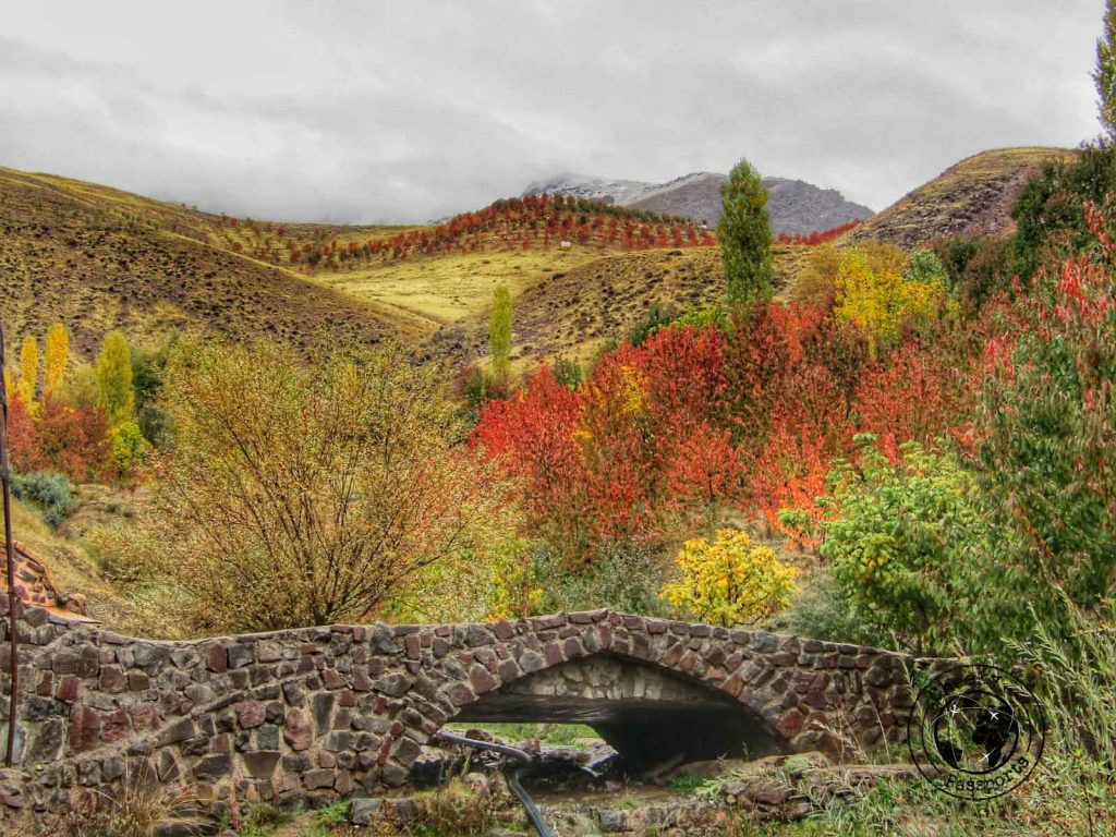 The Alamut Valley in Iran - Getting your Iran Visa