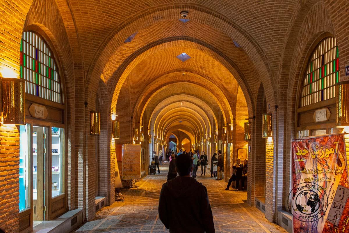 The Caravansarai of Qasvin - Independent Travel in Iran