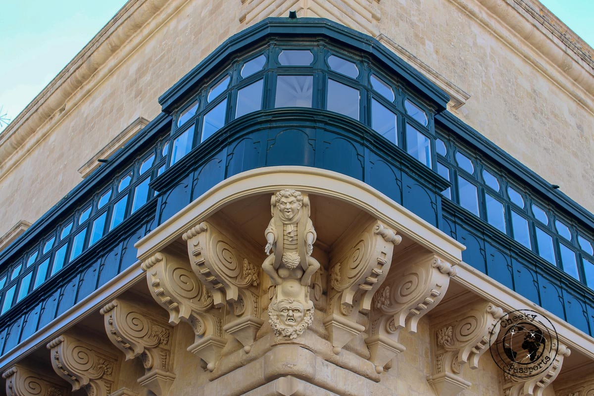 The Maltese balcony is a traditional feature for maltese dwellings