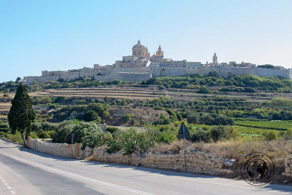 The Silent city of Mdina