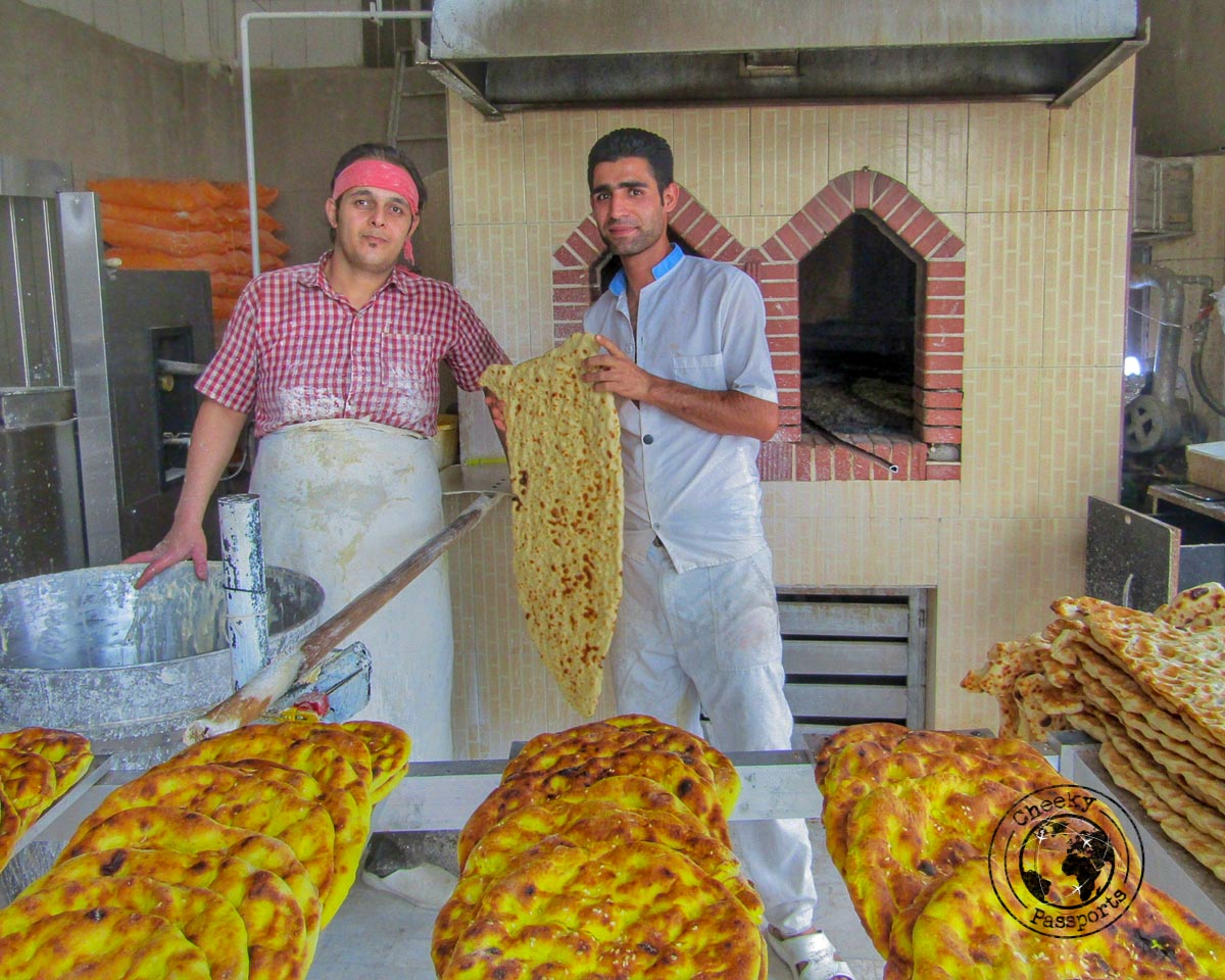 Bread in Iran - Food in Iran