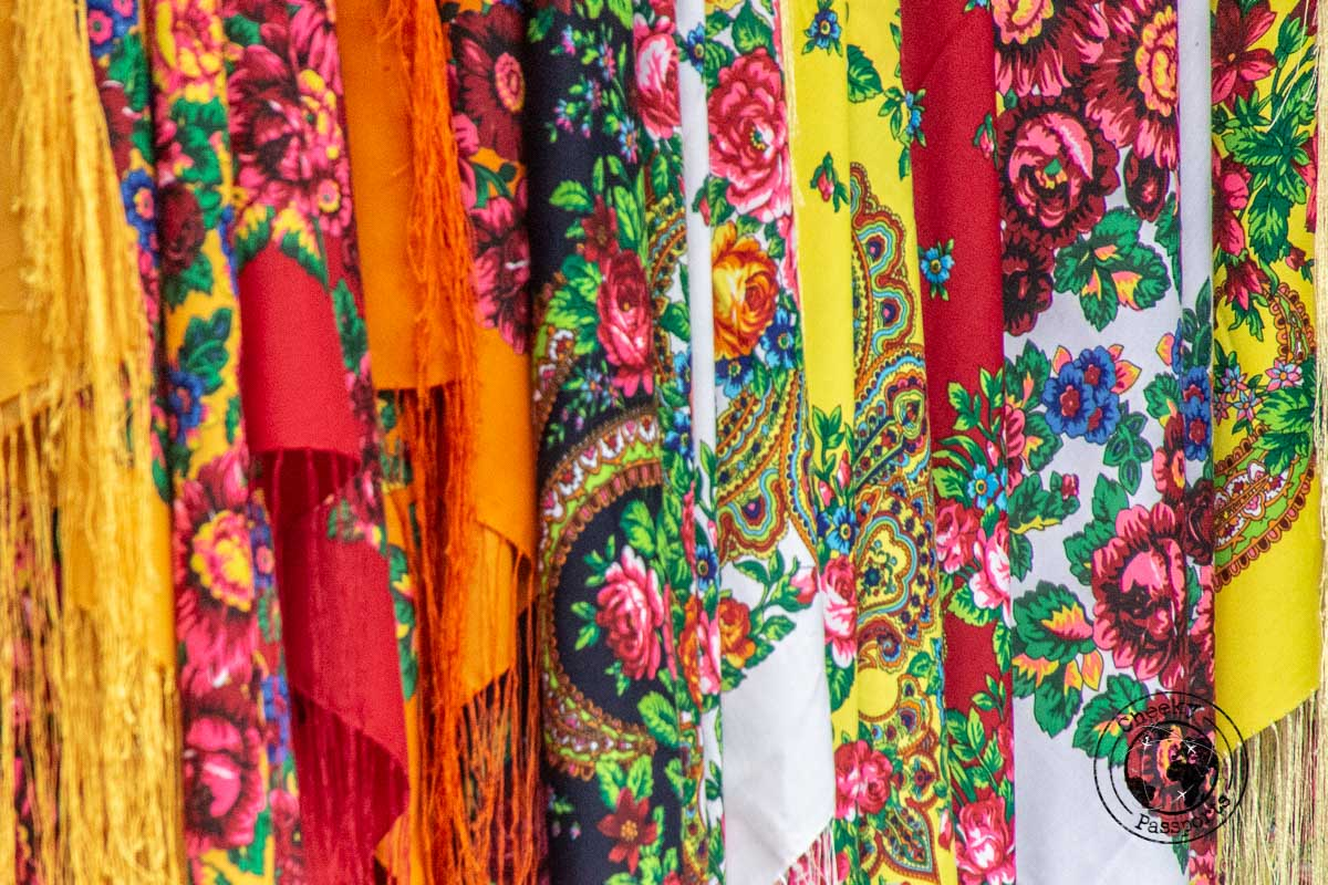 The colours of Iran's head veils