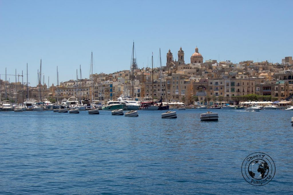 The grand Harbour of Malta