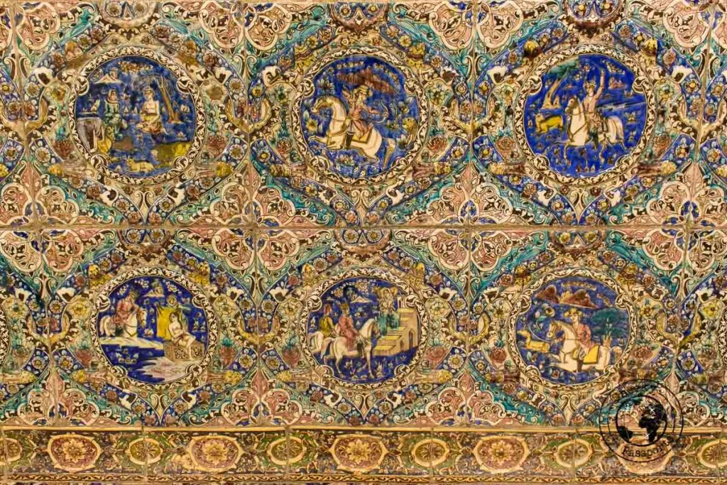 The intricate detail of Persian decor - best places to visit in Tehran