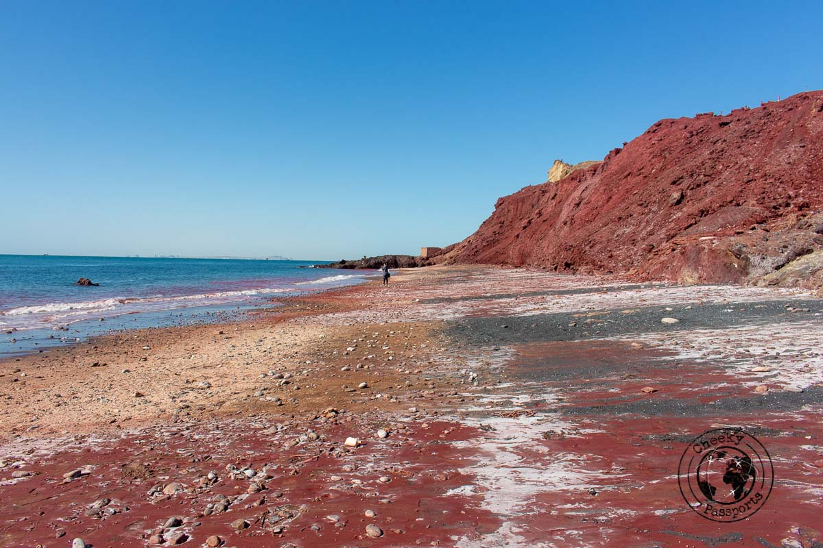The mineral rich island of Hormuz - Independent Travel in Iran