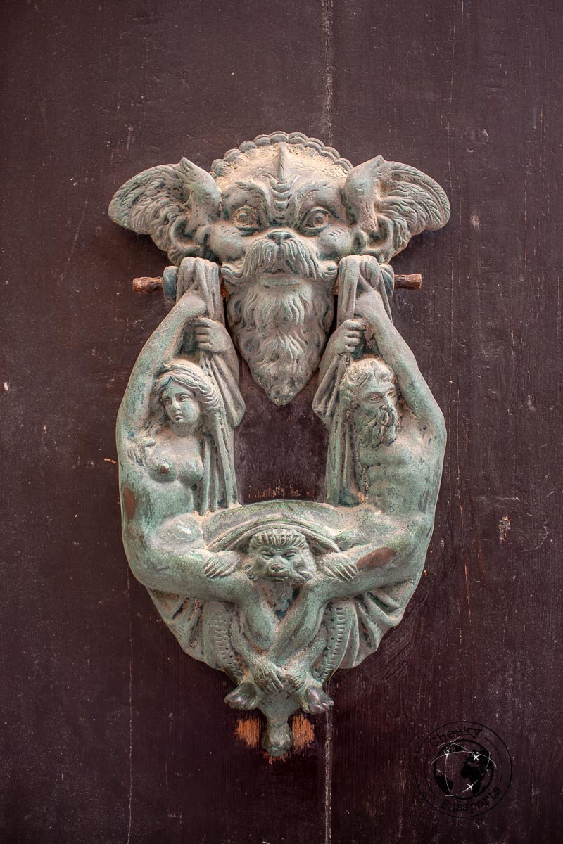 Traditional door knockers of Malta