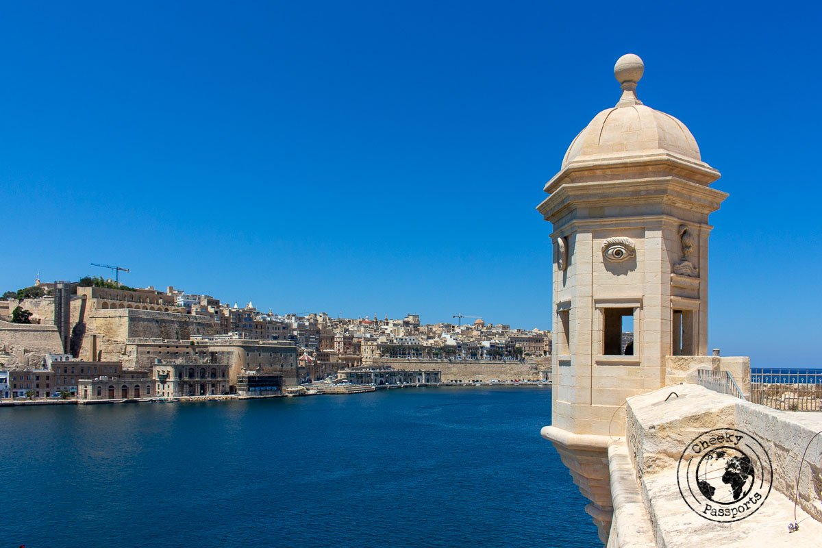 Views of Valletta from Isla