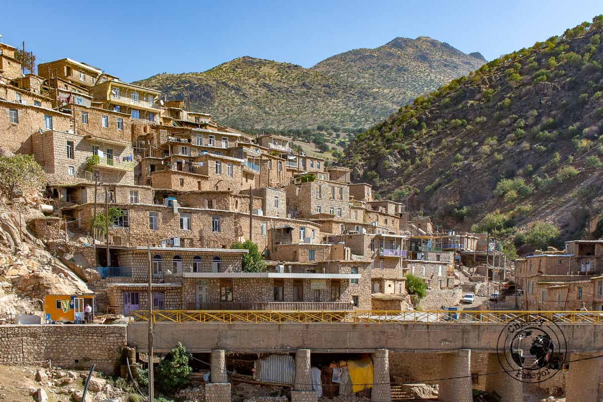 the hamlet of Palangan - Idependent travel in Iran
