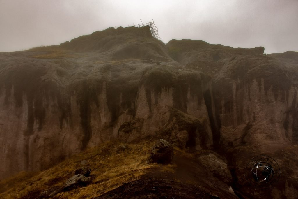 Alamut Castle - Assassin's Catle covered in the mist