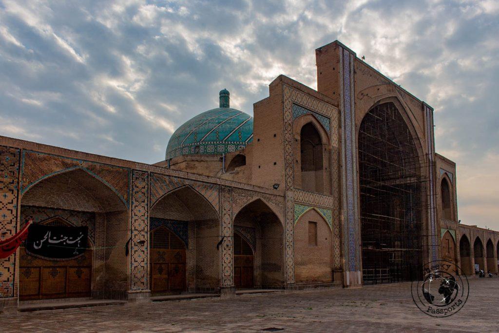 Qazvin Mosque a site on the iran itinerary