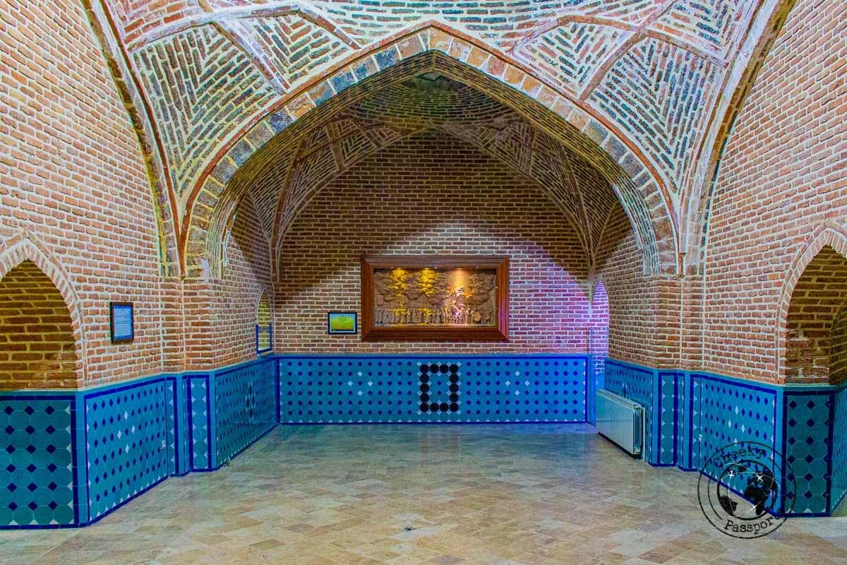 Qajar Bathhouse in Qazvin