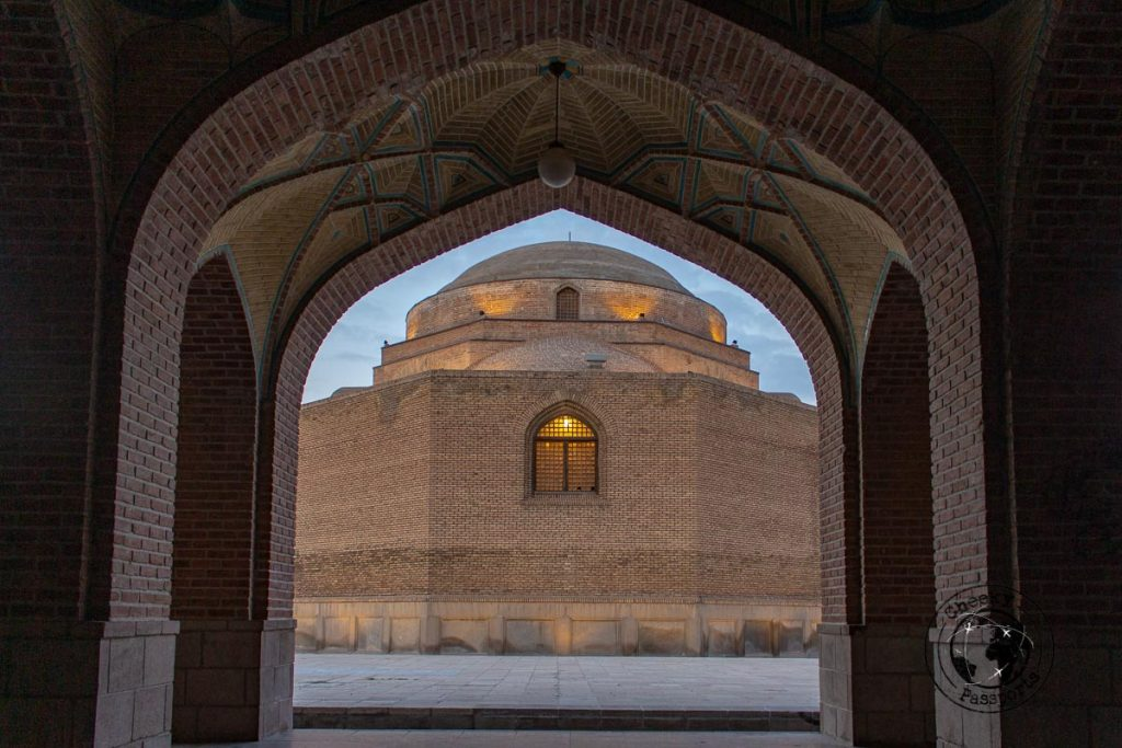 Blue Mosque of Tabriz - How to visit Kandovan, Iran and other things to do in Tabriz