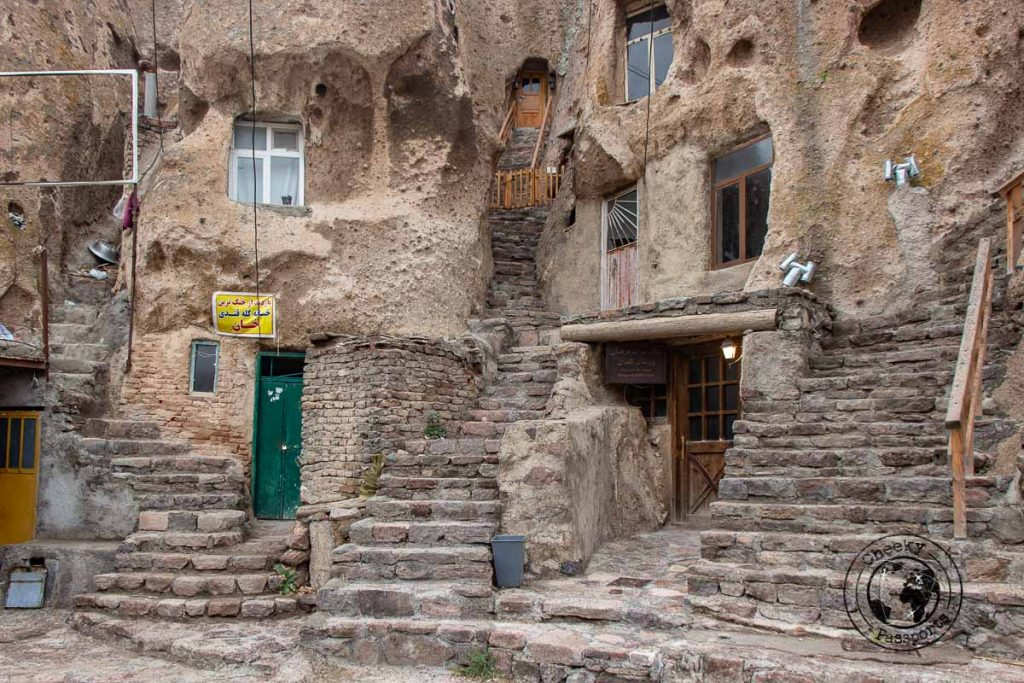The dwellings of kandovan iran