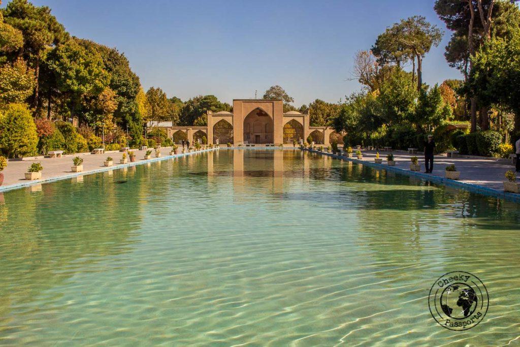 Chehel Sotoon Palace in isfahan