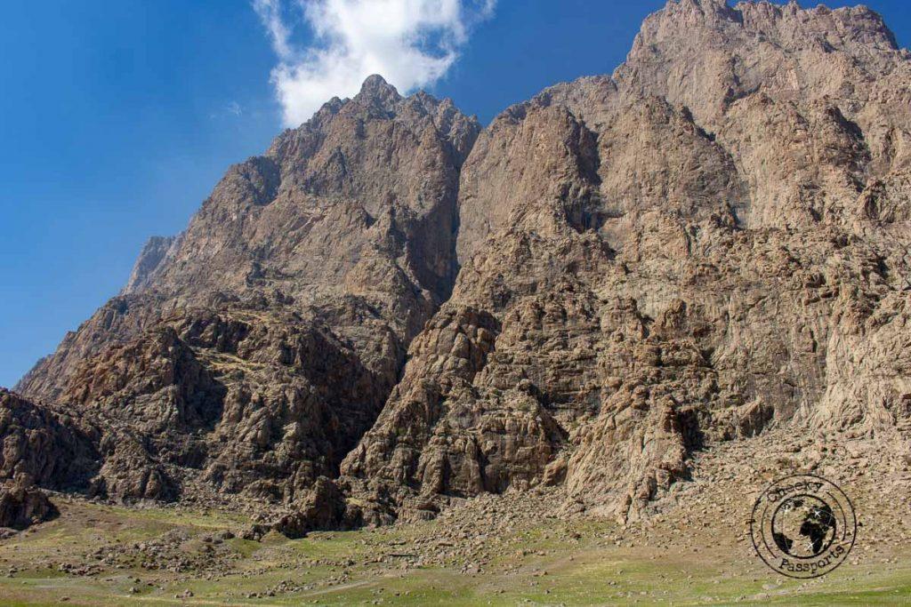 Mount Bisotun near kemanshah