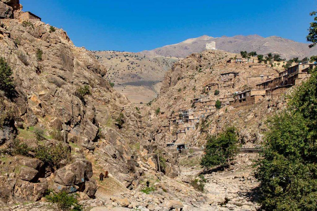 The village of Palangan on your iran itinerary