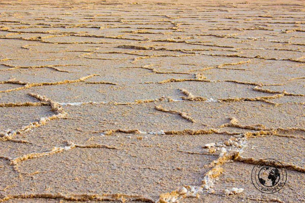 Salt flats of Varzaneh