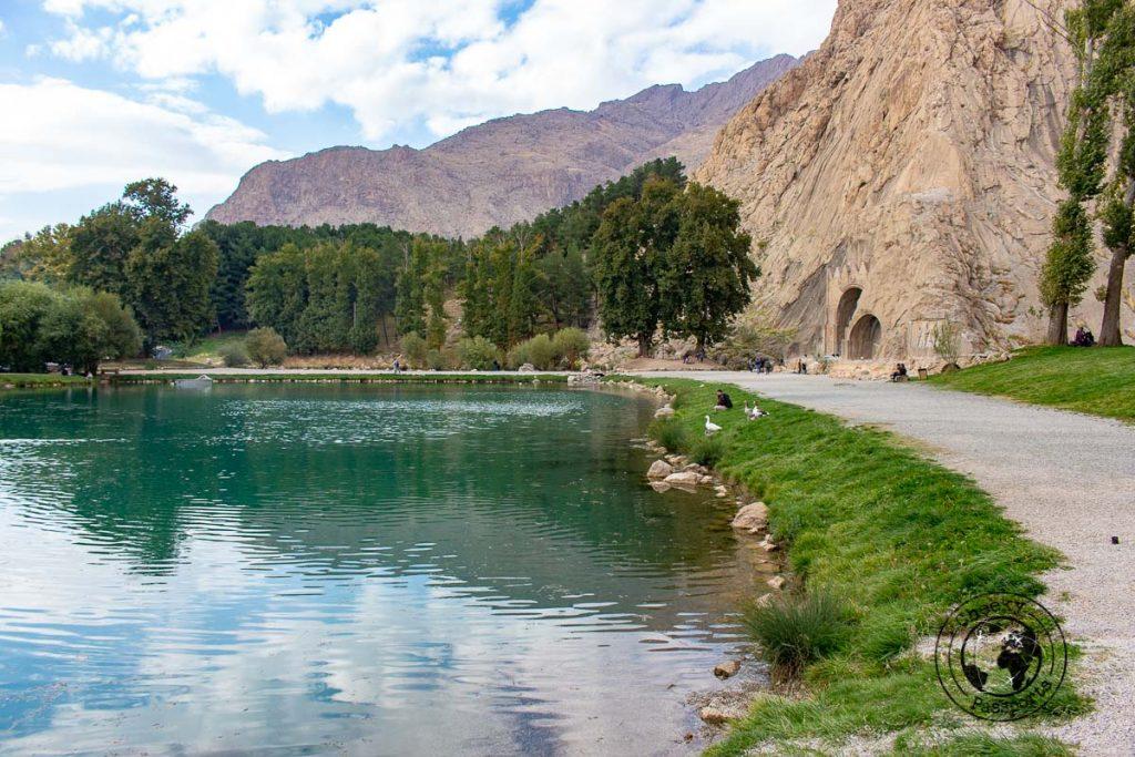 Taq-e Bostan near kermanshah