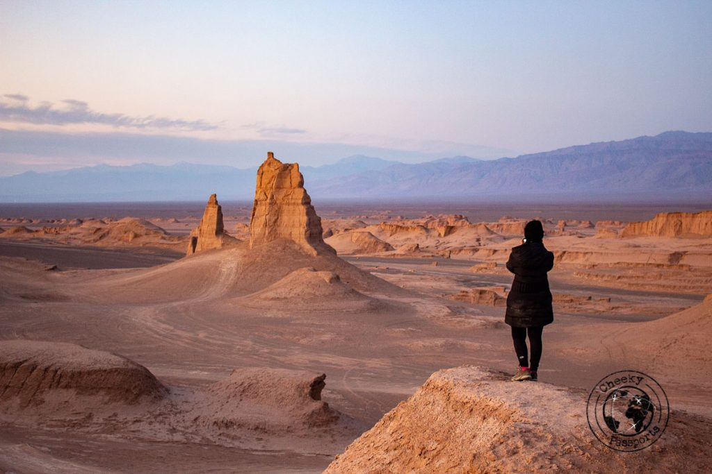 The Lut desert is one of the most beautiful places to visit in Iran